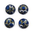 Cabochon CM Classic round 12 mm navy blue