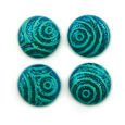 Cabochon CM Classic round 12 mm turquoise