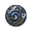 Cabochon CM Classic round 24 navy blue