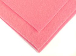 Felt in the sheet 30x40cm - Bright pink
