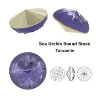 SWAROVSKI Sea Urchin 14 mm Tanzanite F