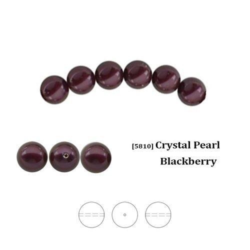 e4765cf93018 Swarovski 5810 Crystal Pearl 4 mm Blackberry (BLBPRL) ...
