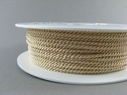 2mm SATIN TWISTED CORD - BEIGE // A1902