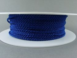 2mm SATIN TWISTED CORD - INDIGO // A4704