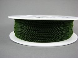 2mm SATIN TWISTED CORD - KHAKI // A7803