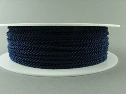 2mm SATIN TWISTED CORD - MIDNIGHTBLUE // A7703