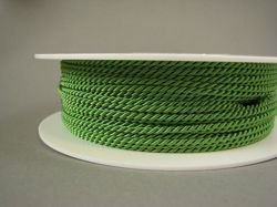 2mm SATIN TWISTED CORD - SHAMROCK // A4802