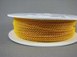 2mm SATIN TWISTED CORD - SUNSHINE // A4202