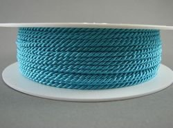 2mm SATIN TWISTED CORD - TURQUOISE // A7701