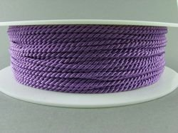 2mm SATIN TWISTED CORD - VIOLET // A1603