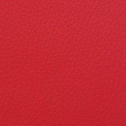 Artificial leather (eco-leather) - red, 17x25cm