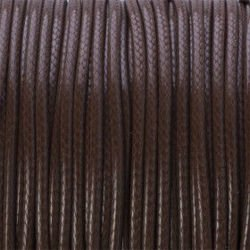 COATED CORD 2mm BROWN