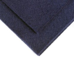 Felt in the sheet 30x40cm - Navy blue