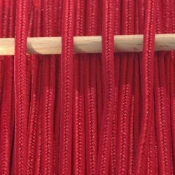 Greek polyester braid 3mm - red, 1m
