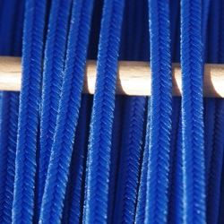 Greek polyester braid 3mm - royal blue, 1m