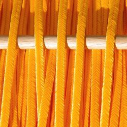 Greek polyester braid 3mm - tangerine, 1m