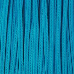 Greek polyester braid 3mm - turquoise, 1m