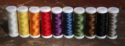 Threads for beading and soutache TYTAN 80, black, 180m