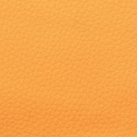 Artificial leather (eco-leather) - yellow, 17x25cm