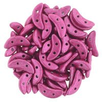 Crescent 3x10mm: ColorTrends: Saturated Metallic Fuchsia, 45 pcs