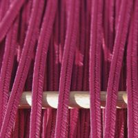 Greek polyester braid 3mm - purple, 1m