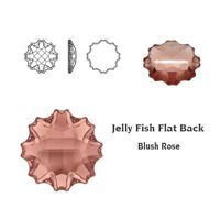 SWAROVSKI Jelly Fish 10 mm Blush Rose F