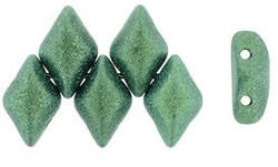 GEMDUO 8x5mm: Metallic Suede - Lt Green, 36 szt.